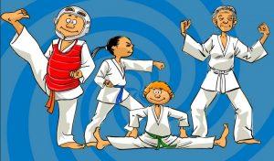 Taekwondo groupe ludique adulte